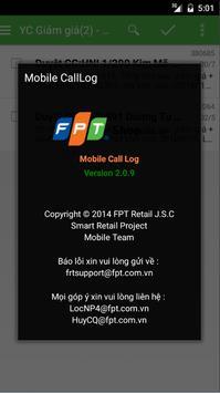 mCallLog apk screenshot