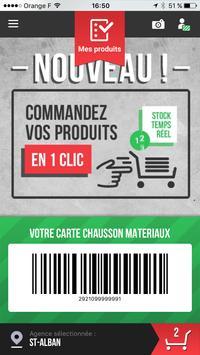 Chausson-Matériaux poster