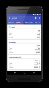 Conjuger French Conjugation apk screenshot