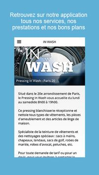 In Wash apk screenshot