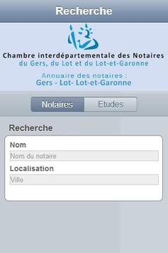 Annuaire notaires Agen poster