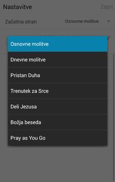 Molitev na poti apk screenshot
