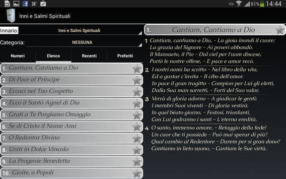 Spiritual Hymns (lyrics) apk screenshot