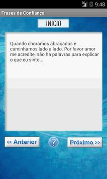 Frases de Confiança apk screenshot