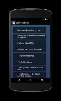 Bedtime Stories apk screenshot