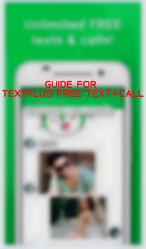 Guide for textPlus Free apk screenshot