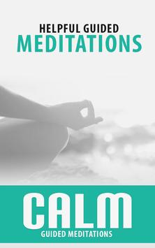 Free Calm Meditate Relax Guide poster