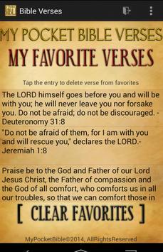 Pocket Mood Bible Verses FREE apk screenshot