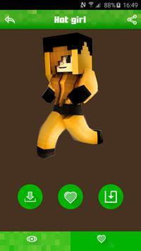 Hot Skins for Minecraft PE apk screenshot