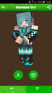 Girl Skins for Minecraft PE apk screenshot