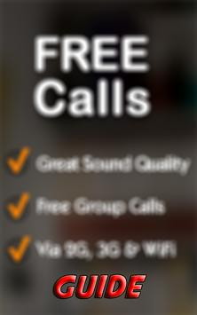 New Free Phone Calls Tips poster