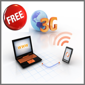 Free 3G Internet Connect icon