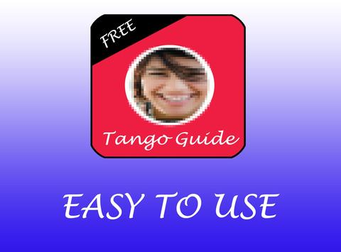 Free Tips For Tango App Guide poster