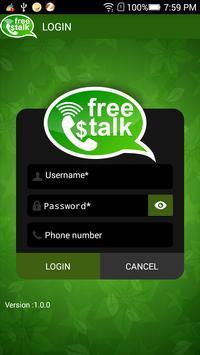 freetalk apk screenshot