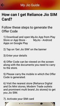 MyJio Guide apk screenshot