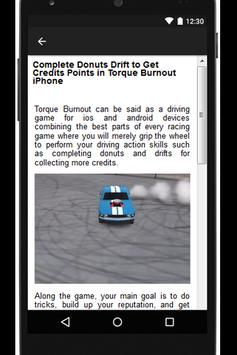 Burnout Guide for Torque apk screenshot