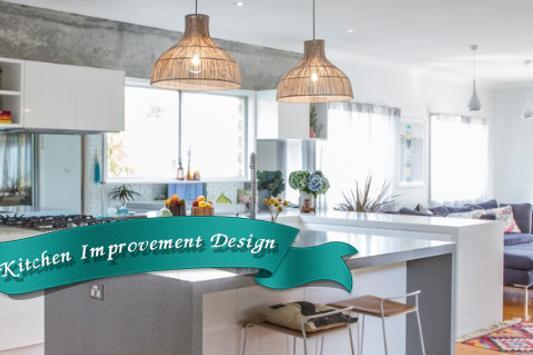 Kitchen Improvement Design poster
