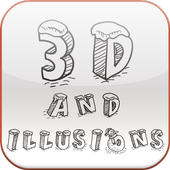 How to Draw 3D and Illusions icon