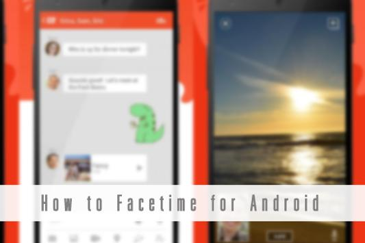 How to Facetime for Android poster