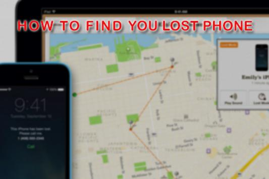 How to Find You Lost Phone poster