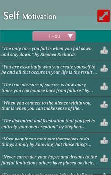 Self Motivation Quotes apk screenshot