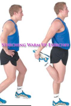 Streching Warm Up Exercises poster