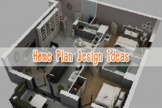 3D Home Plan Design Ideas poster