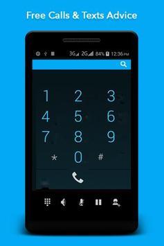 Free Calls Free Texts Advice apk screenshot