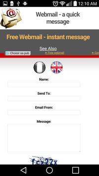 Webmail Free.fr apk screenshot