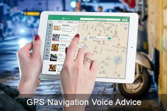 GPS Navigation Voice Advice apk screenshot