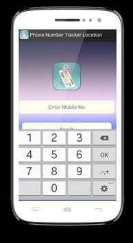 Phone Number Tracker Location apk screenshot