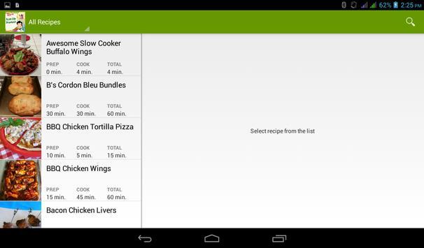 Whole Chicken Recipes Book apk screenshot