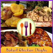 Baked Chicken Thighs Recipes icon