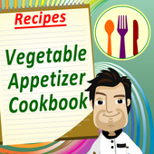Vegetable Appetizer Cookbook icon