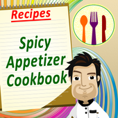Spicy Appetizers Cookbook Free icon