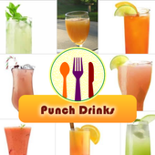 Punch Drinks Recipes Free icon
