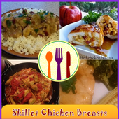 Skillet Chicken Breasts Recipe icon