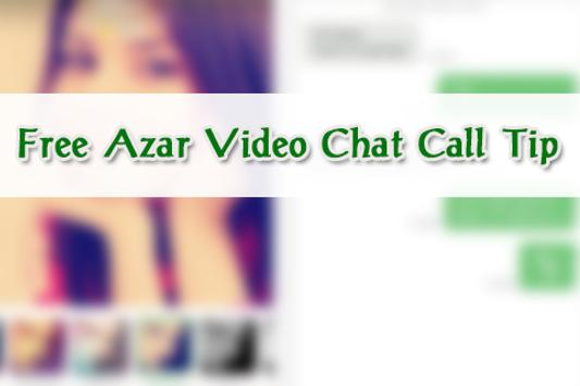 Free Azar Video Chat Call Tip poster