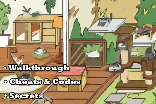 Guide for Neko Atsume Kitty poster