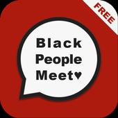 Free Black People Meet Tips icon