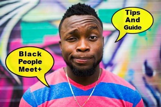 Free Black People Meet Advice poster