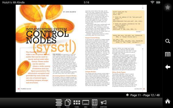 FreeBSD Journal apk screenshot
