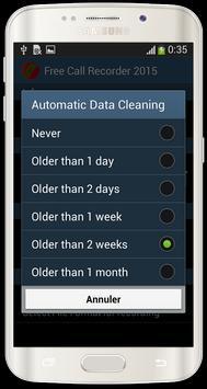 Free Call Recorder 2015 apk screenshot