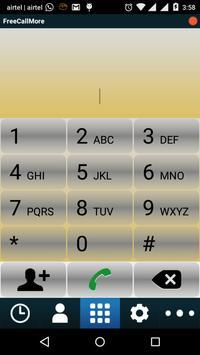 FreeCallMore apk screenshot