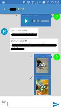 Nauta Messenger  - Cuba Chat apk screenshot