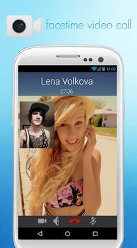 Free Facetime Video Call Chat apk screenshot
