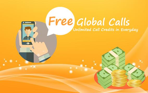 Free Global Calls - Advice poster