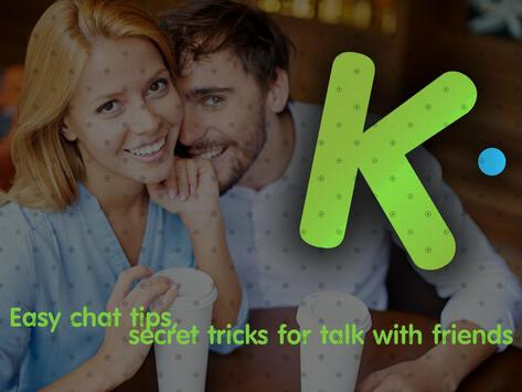 Chat Kik Messenger App Guide poster