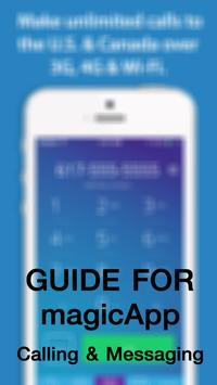Guide for magicApp Call Free poster