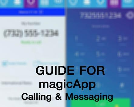 Guide for magicApp Call Free apk screenshot